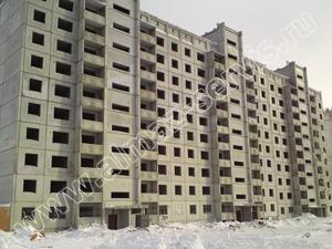Панельный дом г. Новосибирск с приточными клапанами