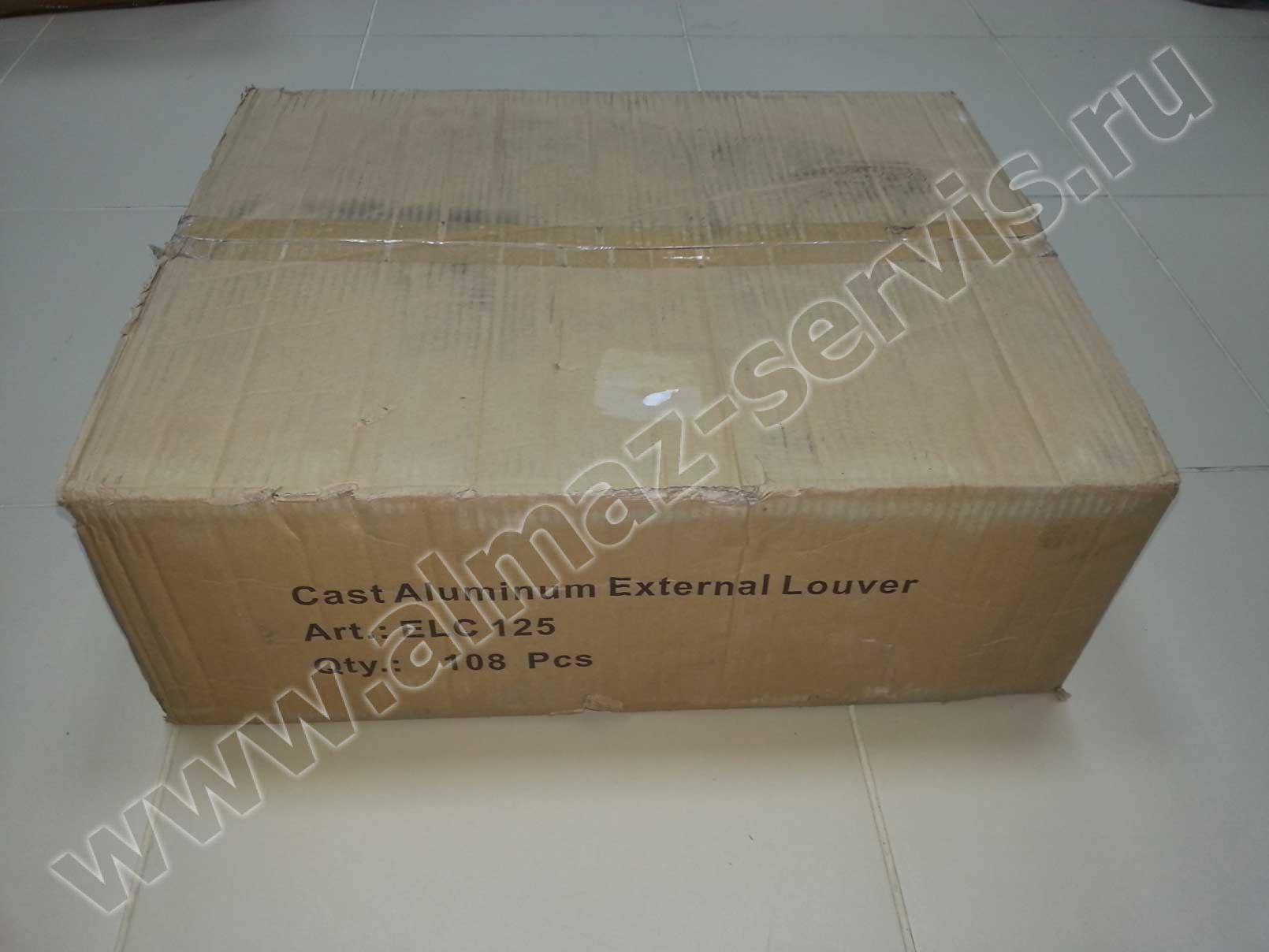 Коробка решеток КПВ-125