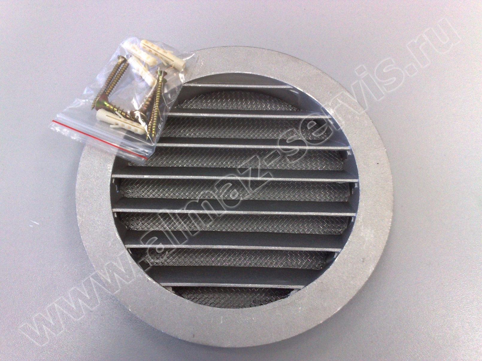 Металлическая решётка с мелкой москитной сеткой