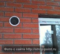потеют окна приточный клапан